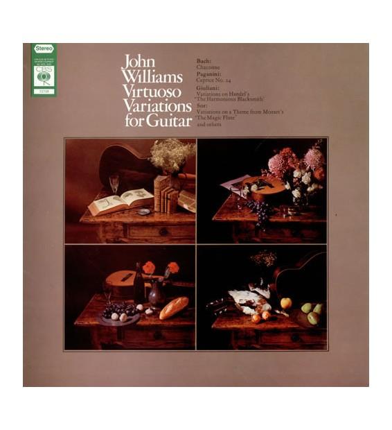 John Williams (7) - Virtuoso Variations For Guitar (LP, Album)