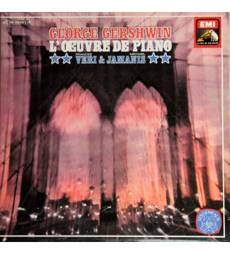 George Gershwin, Frances Veri, Michael Jamanis - Gershwin: L'Oeuvre de Piano (2xLP, Gat) mesvinyles.fr