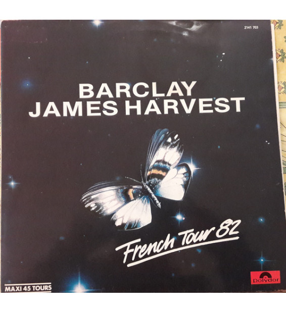 "Barclay James Harvest - French Tour 82 (12"", EP, Promo) mesvinyles.fr"