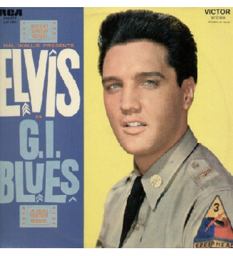 Elvis Presley - G. I. Blues (LP, Album, Mono, RE) mesvinyles.fr