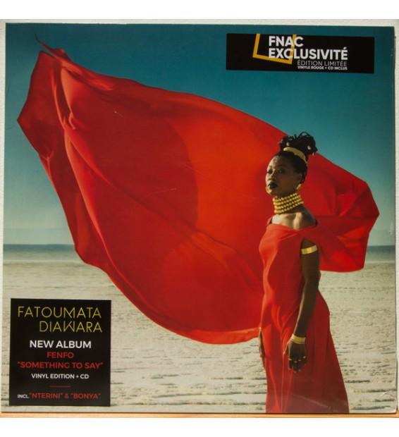 Fatoumata Diawara - Fenfo - Something To Say (LP, Album, Ltd, Red + CD, Album)