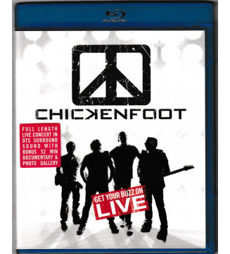 Chickenfoot - Get Your Buzz On LIVE (Blu-ray) mesvinyles.fr