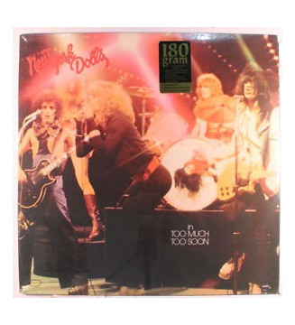 New York Dolls - Too Much Too Soon (LP, Album, RE, 180) mesvinyles.fr