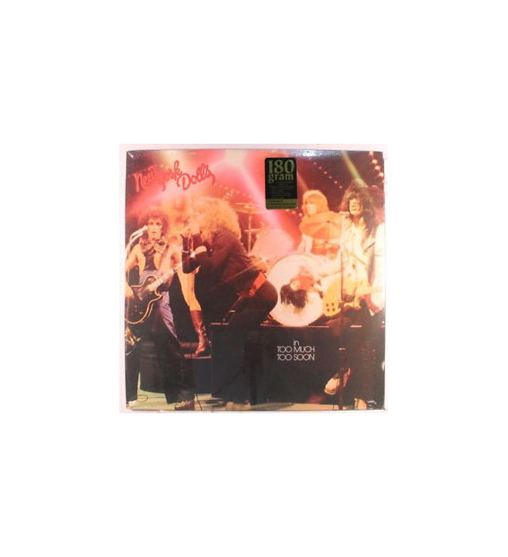 New York Dolls - Too Much Too Soon (LP, Album, RE, 180) mesvinyles.fr