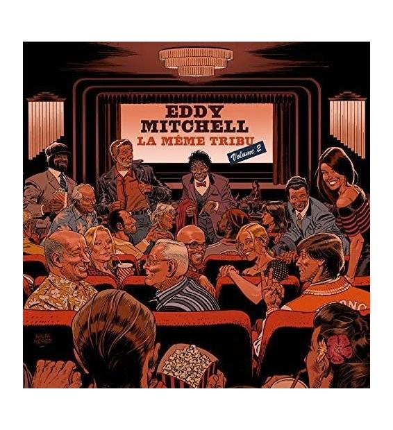 Eddy Mitchell - La Même Tribu volume 2 (2xLP, Album)