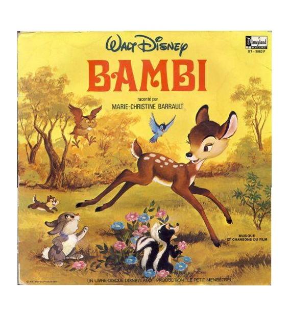 Walt Disney - Bambi (LP, Gat)