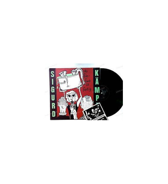 Sigurd Kämpft - Da Elefant Is Fertig (LP, Album) mesvinyles.fr