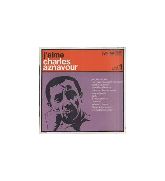 Charles Aznavour - J'Aime Charles Aznavour (Vol. 1) (LP, Album) mesvinyles.fr