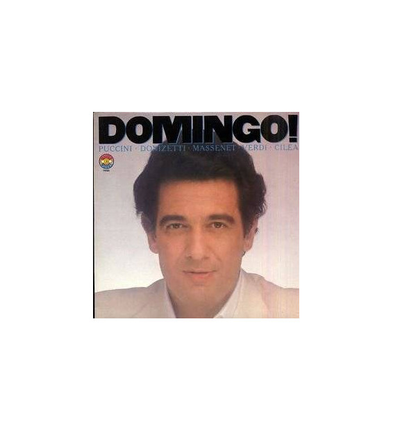Placido Domingo - Domingo! (LP, Comp) mesvinyles.fr