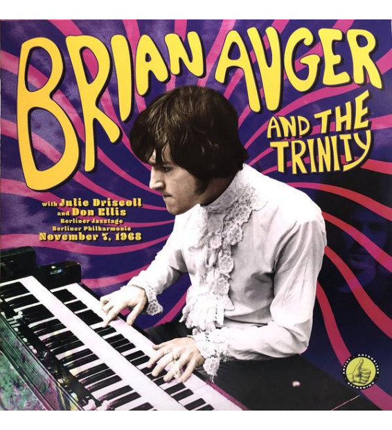 Brian Auger And The Trinity* With Julie Driscoll And Don Ellis - Berliner Jazztage, Berliner Philharmonie: November 7, 1968 (LP