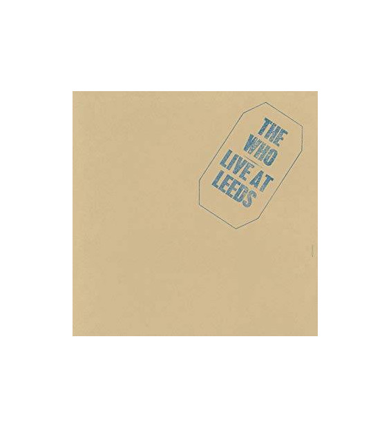 The Who - Live At Leeds (LP, Album, Blk)