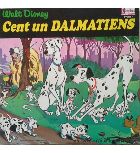 """Jacques Duby - Cent Un Dalmatiens (10"""") mesvinyles.fr"""