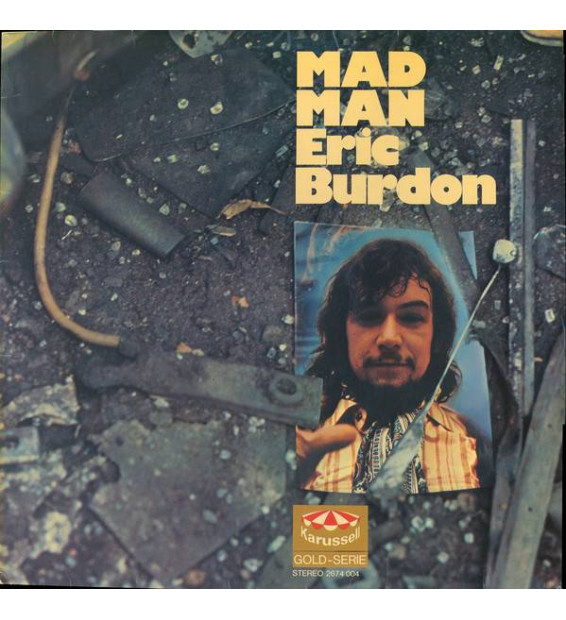 Eric Burdon - Mad Man (2xLP, Comp) mesvinyles.fr