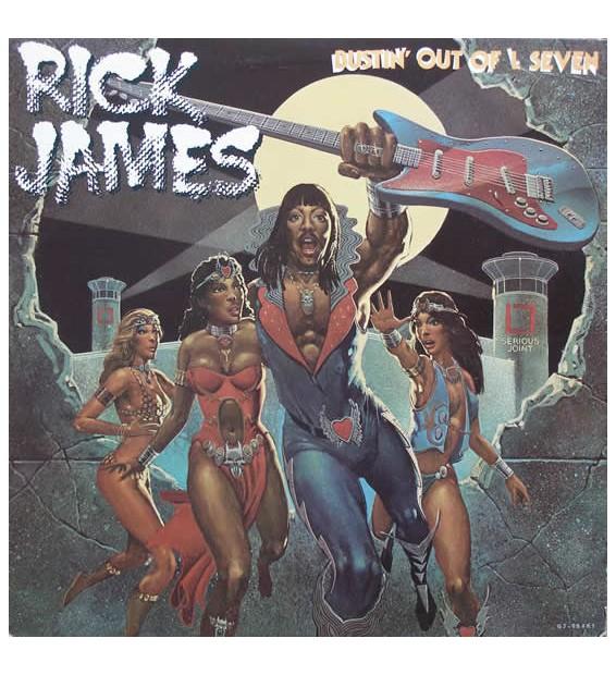 Rick James - Bustin' Out Of L Seven (LP, Album) mesvinyles.fr