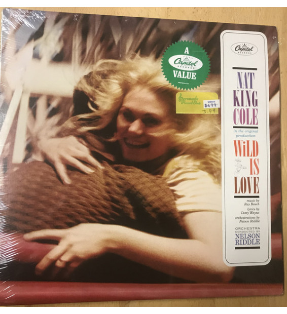 Nat King Cole - Wild Is Love (LP, Album, RE) mesvinyles.fr