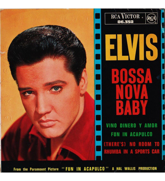"Elvis* - Bossa Nova Baby (7"", EP)"