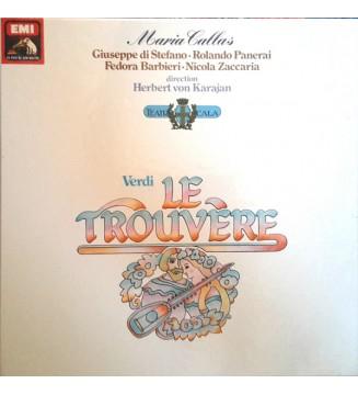 Giuseppe Verdi, Maria Callas, Herbert von Karajan - Le Trouvère  (3xLP, Album, Mono) mesvinyles.fr