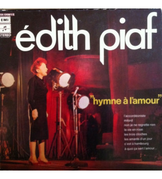 Edith Piaf - Hymne À L'amour (3xLP, Comp + Box)