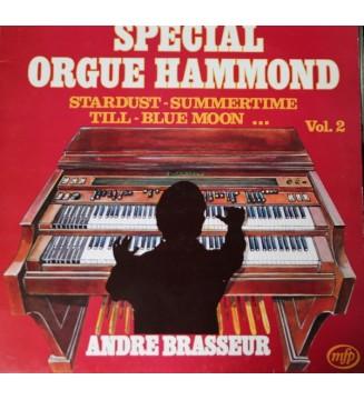 André Brasseur - Special Orgue Hammond (LP, Comp, RE)