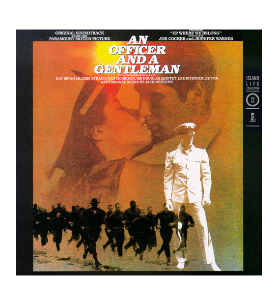 Various - An Officer And A Gentleman - Soundtrack (LP, Comp, RE) mesvinyles.fr