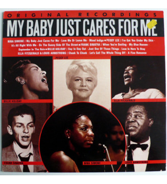 Various - My Baby Just Cares For Me (LP, Comp) mesvinyles.fr