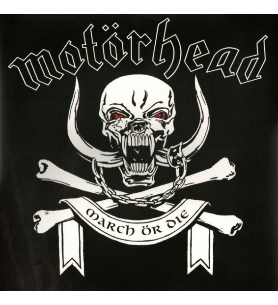 Motörhead - March Ör Die (LP, Album, RE, 180)