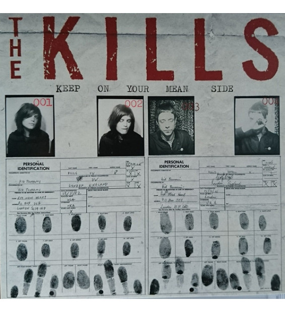 The Kills - Keep On Your Mean Side (LP, Album, 180)