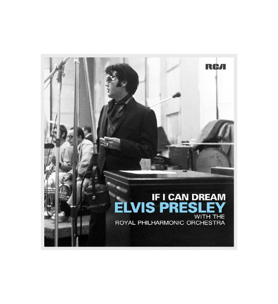 Elvis Presley With The Royal Philharmonic Orchestra - If I Can Dream (2xLP, Album)