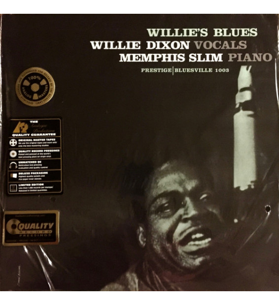 Willie Dixon With Memphis Slim - Willie's Blues (LP, Album, Ltd, Num, RE, RM, 200)