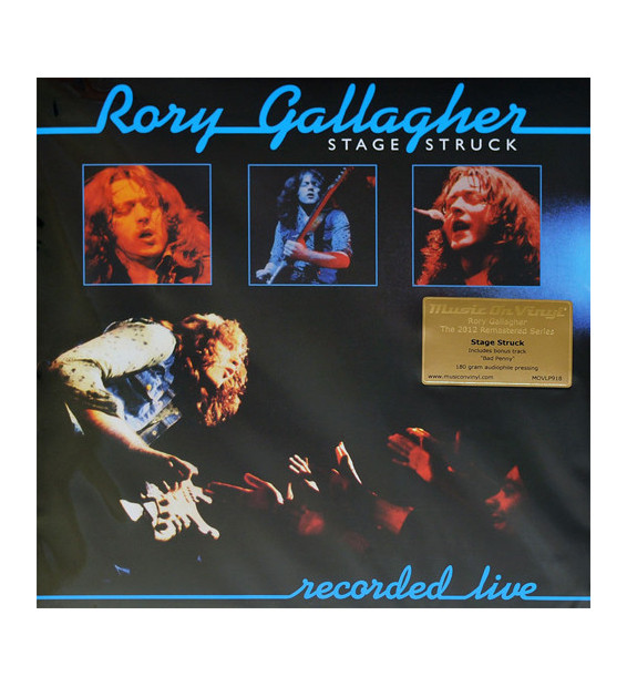 Rory Gallagher - Stage Struck (LP, Album, RE, RM, 180)