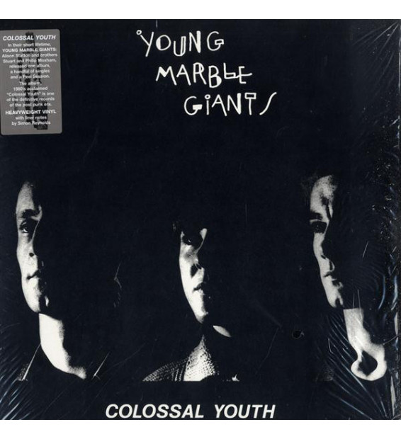 Young Marble Giants - Colossal Youth (LP, Album, RE)