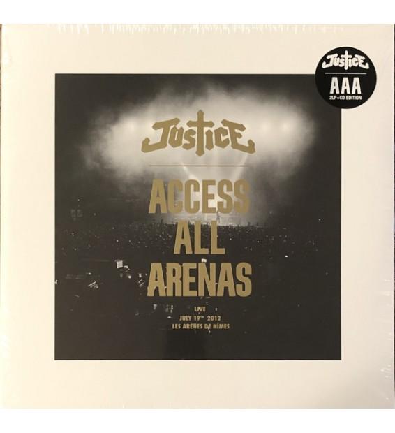 Justice (3) - Access All Arenas (2xLP + CD + Ltd, P/Mixed)