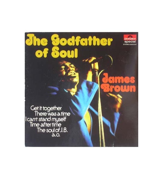 James Brown - The Godfather Of Soul (LP) mesvinyles.fr