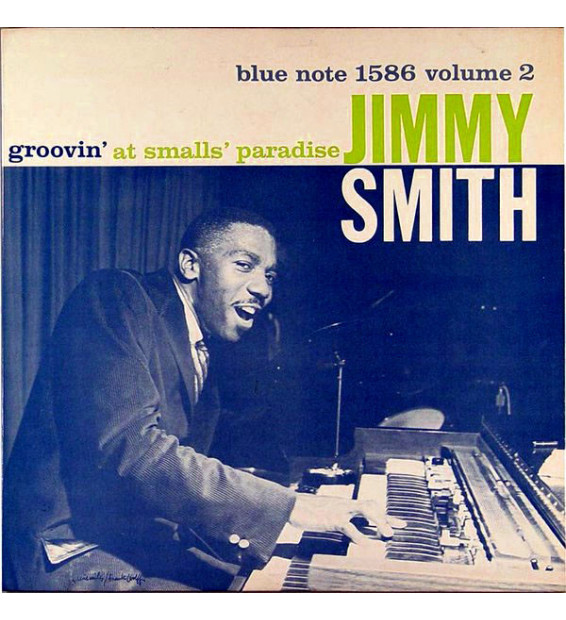 Jimmy Smith - Groovin' At Smalls' Paradise (Volume 2) (LP, Album, Mono)