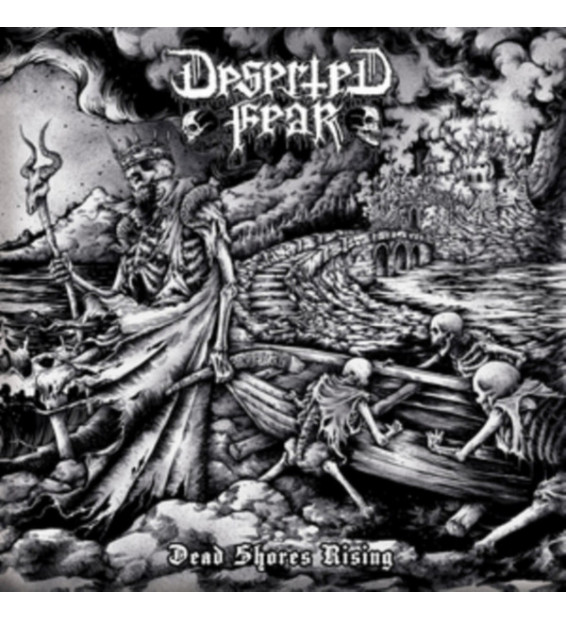 Deserted Fear - Dead Shores Rising (LP, Album)