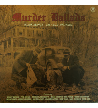 Various - Murder Ballads - Folk Songs - Deadly Stories (LP, Comp, Ltd, 180) mesvinyles.fr