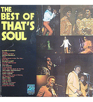 Various - The Best Of That's Soul (LP, Comp)