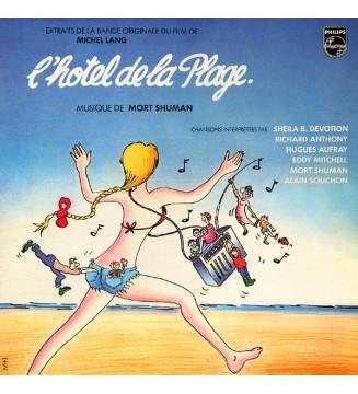 Mort Shuman - L'Hôtel De La Plage (Extraits De La Bande Originale Du Film De Michel Lang) (LP, Album)