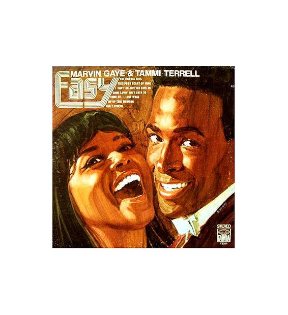 Marvin Gaye & Tammi Terrell - Easy (LP, Album, RE)