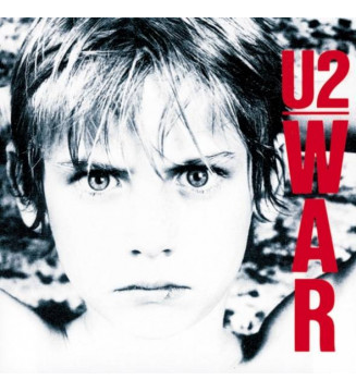 U2 - War (LP, Album, Imp)