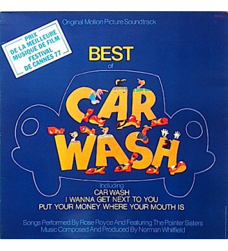Rose Royce - Best Of Car Wash (Original Motion Picture Soundtrack) (LP, Gat) mesvinyles.fr
