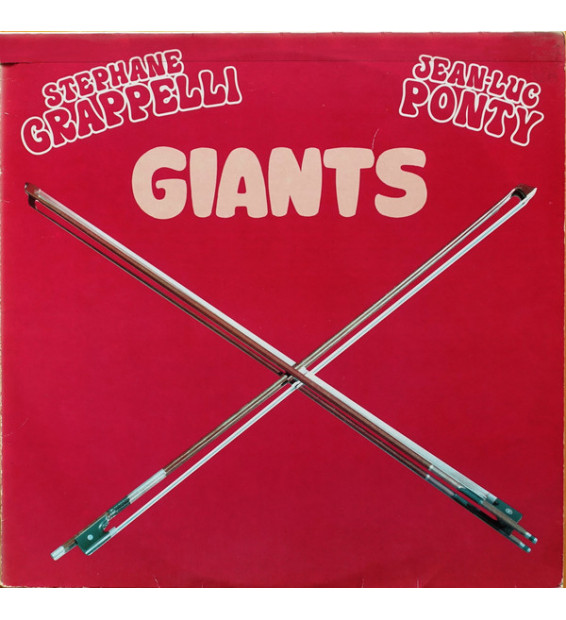 Stephane Grappelli* / Jean-Luc Ponty - Giants (LP, Album, Comp)