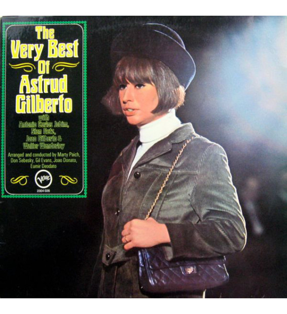 Astrud Gilberto - The Very Best Of Astrud Gilberto (LP, Comp, RP) mesvinyles.fr