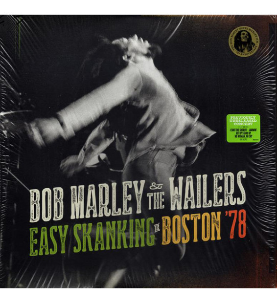 Bob Marley & The Wailers - Easy Skanking In Boston '78 (2xLP, Album)