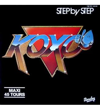 "Koxo - Step By Step (12"", Maxi) mesvinyles.fr"