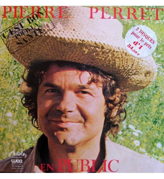 Pierre Perret (2) - Pierre Perret En Public (2xLP, Album, Mono)