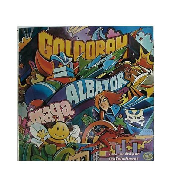 Les Télédingos - Goldorak, Albator, Maya (LP) mesvinyles.fr