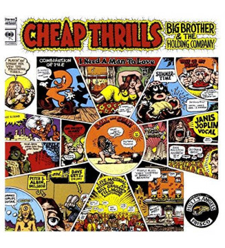 Big Brother & The Holding Company - Cheap Thrills (LP, Album, RE) mesvinyles.fr