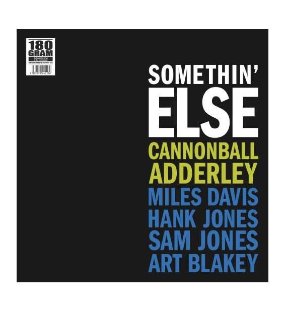 Cannonball Adderley - Somethin' Else (LP, Album, RE, 180)