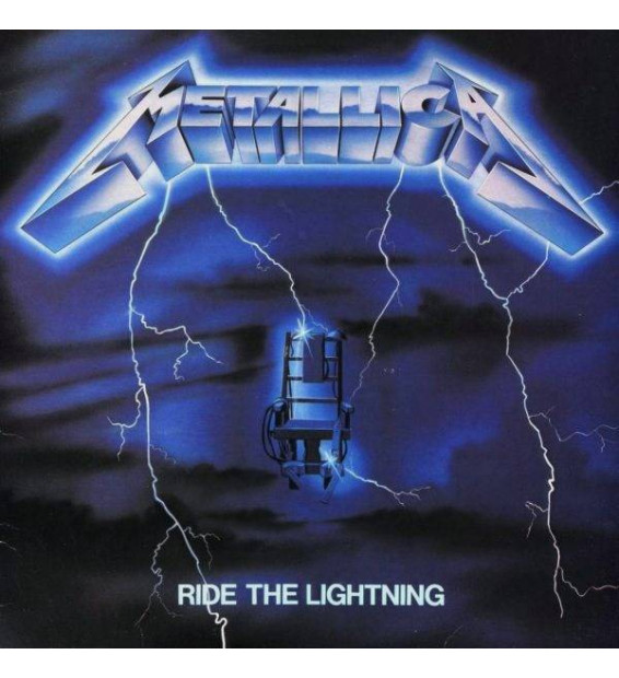 Metallica - Ride The Lightning (LP, Album, RE, RM)